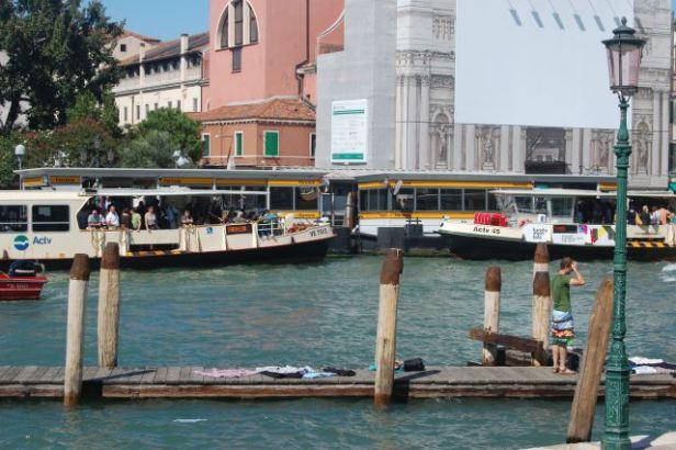 Vaporetto, bus boat, Venice