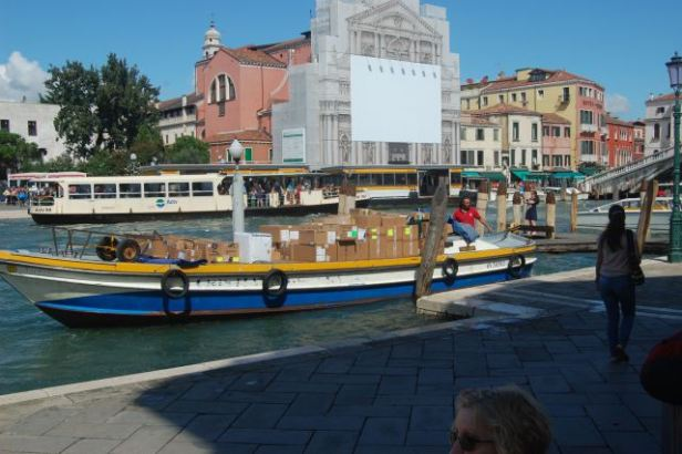 Delivery boat, Venice