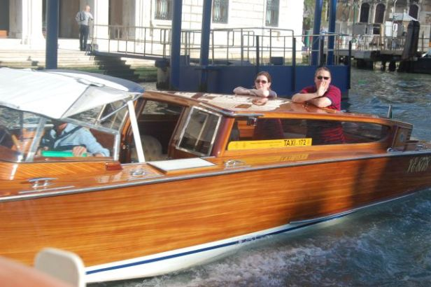 Taxi boat, Venice