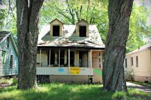This house on Lamphere will be demolished soon
