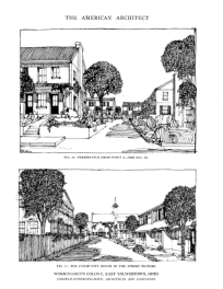 Renderings of the Campbell 'colony' in the American Architect